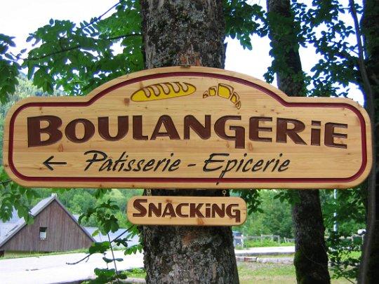 La signal tique for Panneau exterieur restaurant